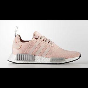 pink and grey adidas